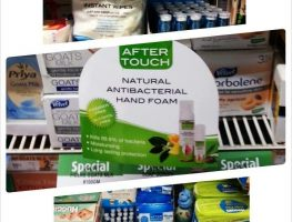 after touch hand foam